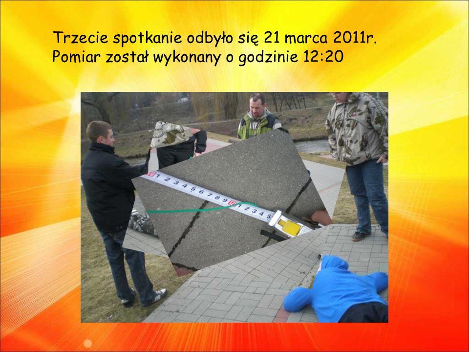 Trzecie spotkanie odbyło się 21 marca 2011r