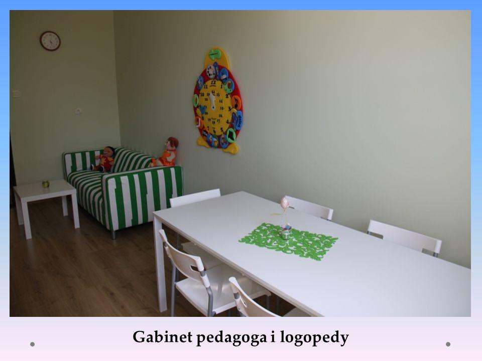 Gabinet pedagoga i logopedy