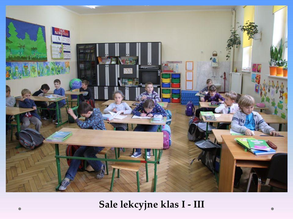 Sale lekcyjne klas I - III