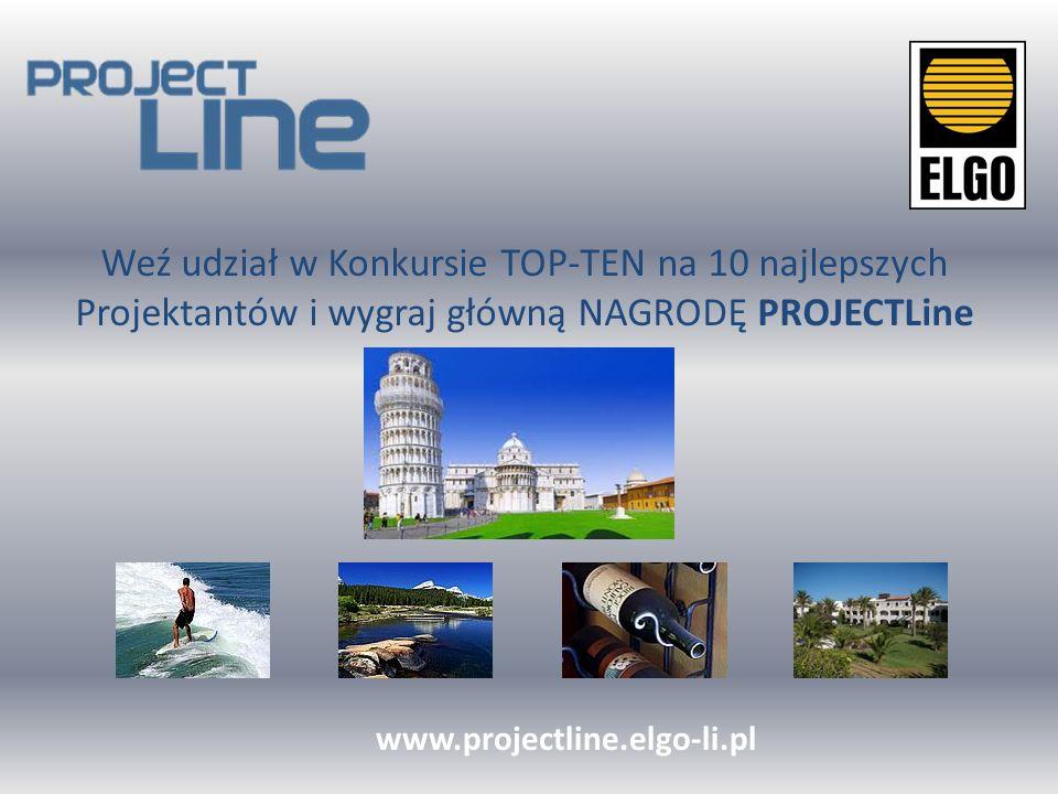 Weź udział w Konkursie TOP-TEN na 10 najlepszych Projektantów i wygraj główną NAGRODĘ PROJECTLine