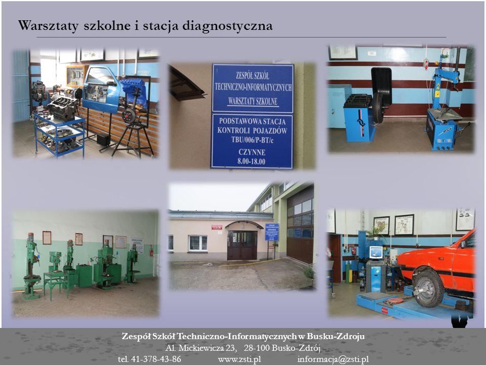 Warsztaty szkolne i stacja diagnostyczna