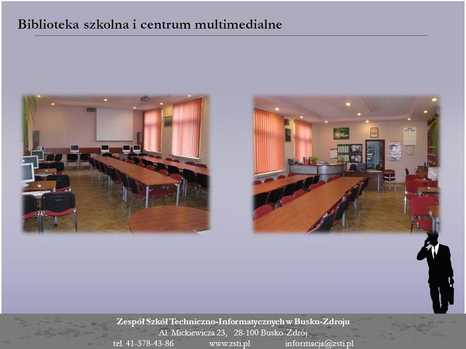 Biblioteka szkolna i centrum multimedialne