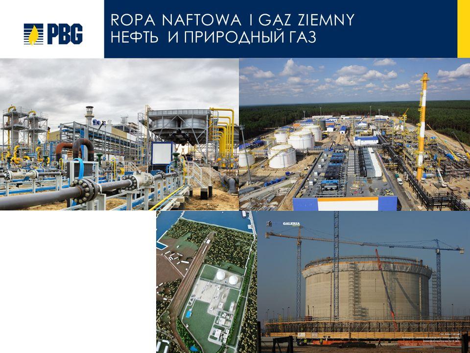 ropa naftowa i Gaz ziemny НЕФТЬ И ПРИРОДНЫЙ ГАЗ