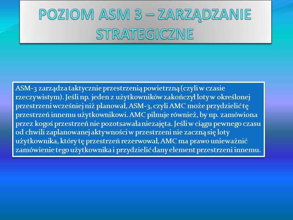 POZIOM ASM 3 – ZARZĄDZANIE STRATEGICZNE