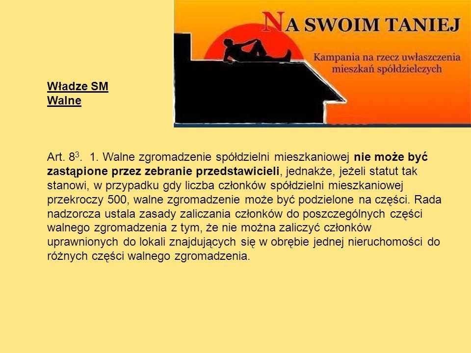 Władze SM Walne.