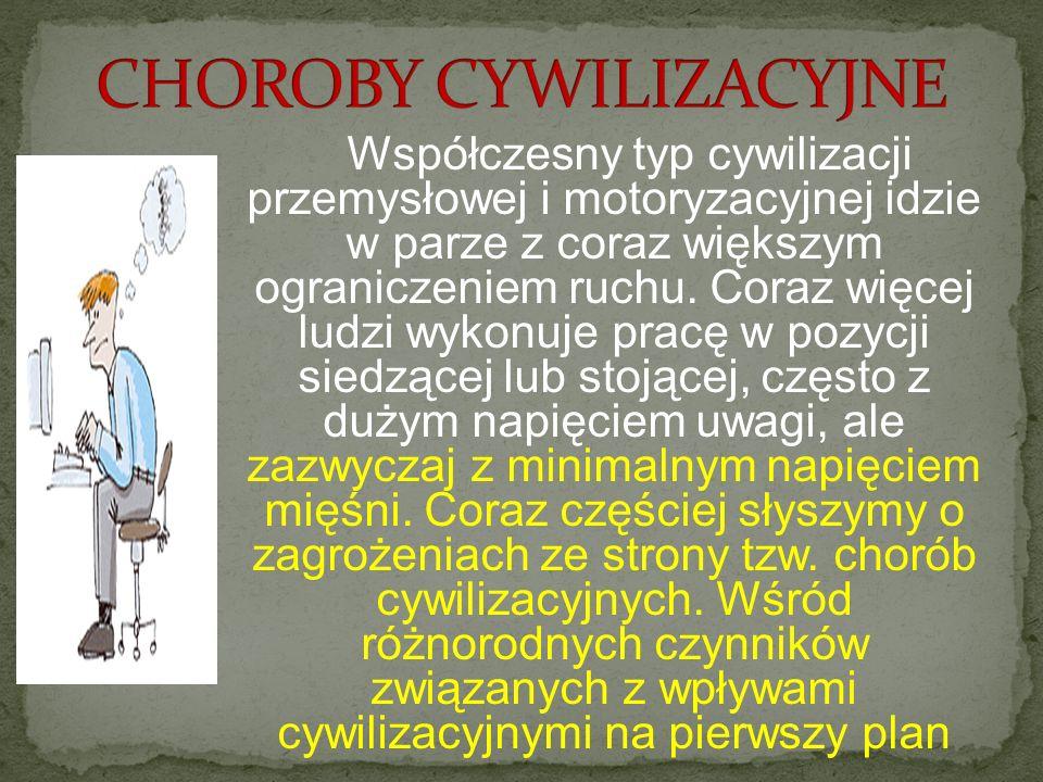 CHOROBY CYWILIZACYJNE