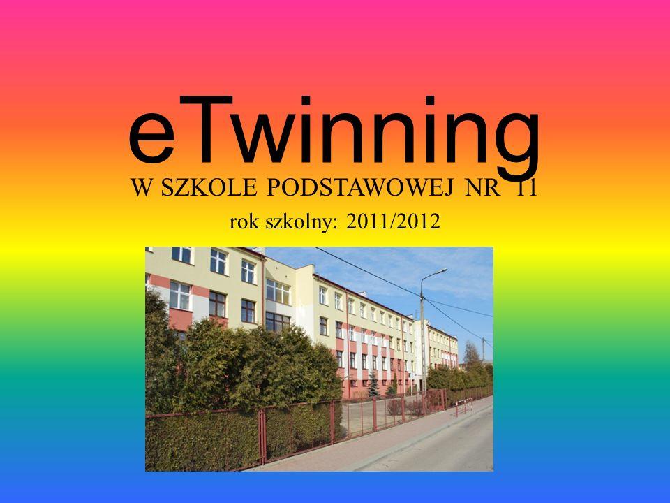 W SZKOLE PODSTAWOWEJ NR 11 rok szkolny: 2011/2012