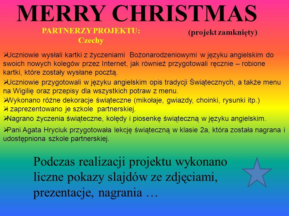 MERRY CHRISTMAS (projekt zamknięty)