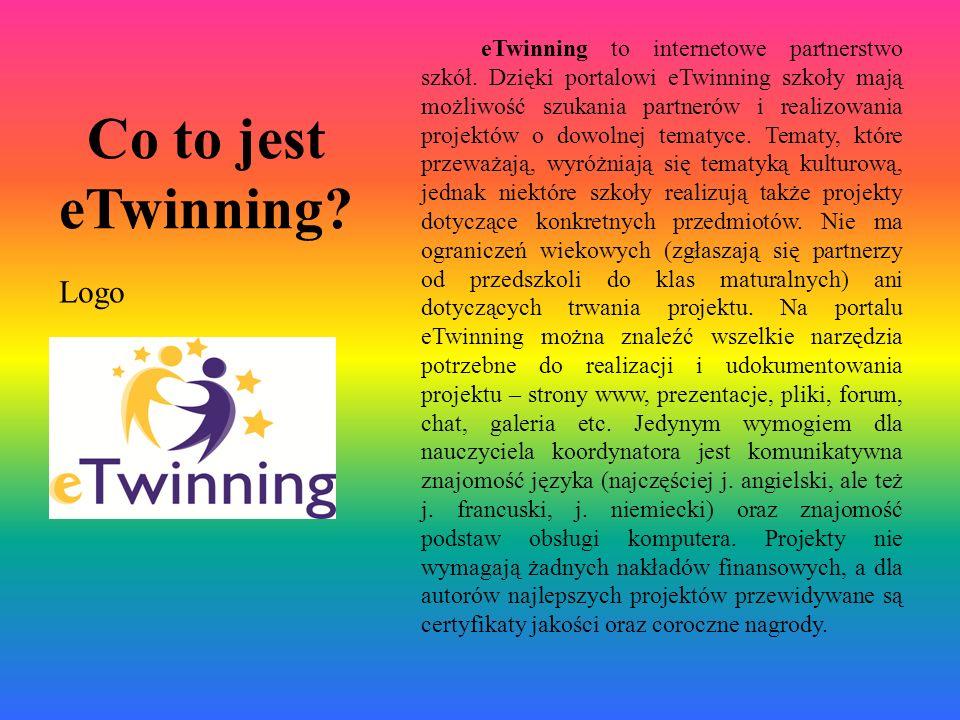 Co to jest eTwinning Logo