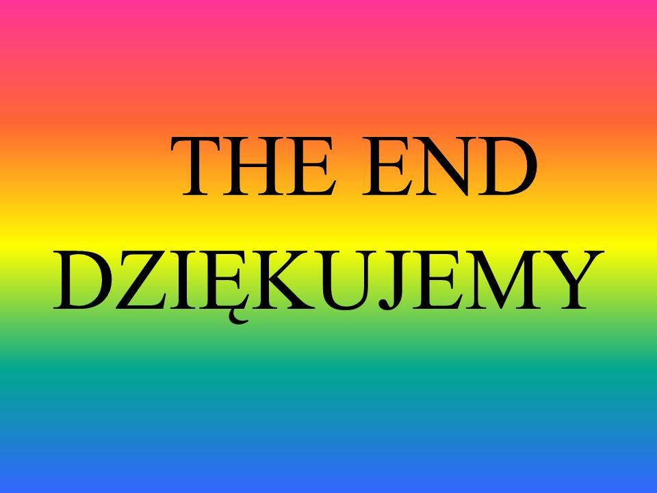 THE END DZIĘKUJEMY