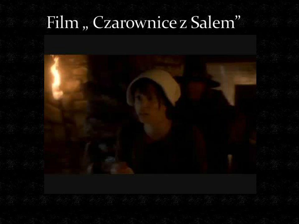 """Film """" Czarownice z Salem"""