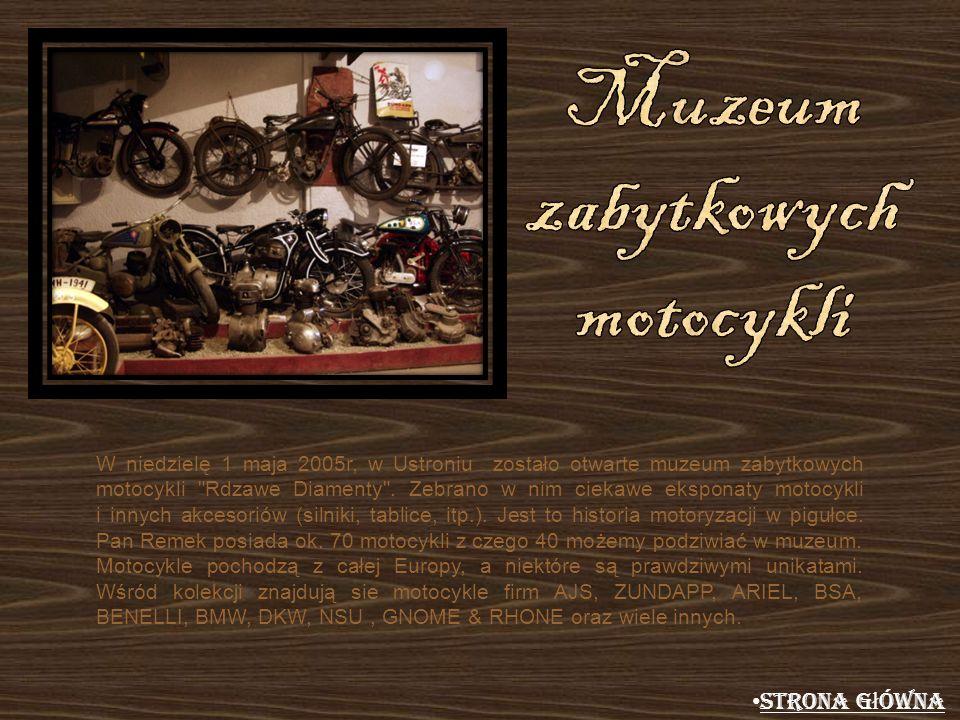 Muzeum zabytkowych motocykli