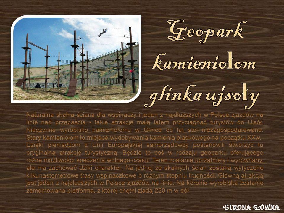Geopark kamieniołom glinka ujsoły