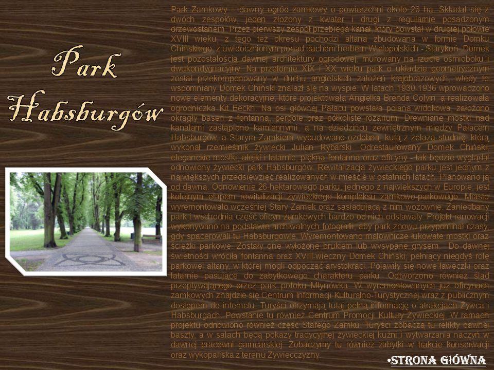 Park Habsburgów Strona główna