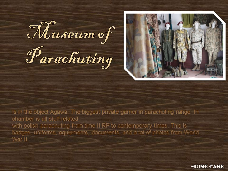 Museum of Parachuting