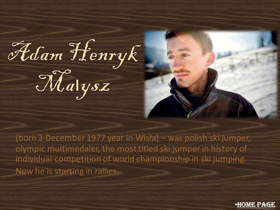 Adam Henryk Małysz