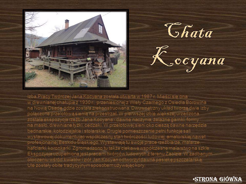 Chata Kocyana Strona główna