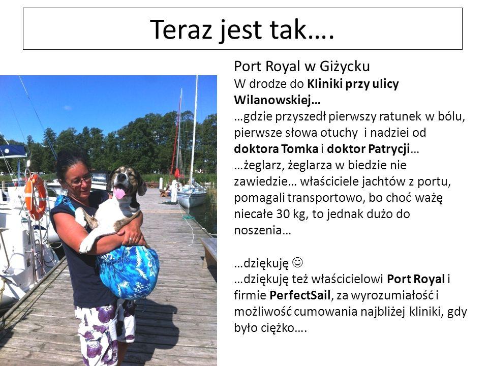 Teraz jest tak…. Port Royal w Giżycku