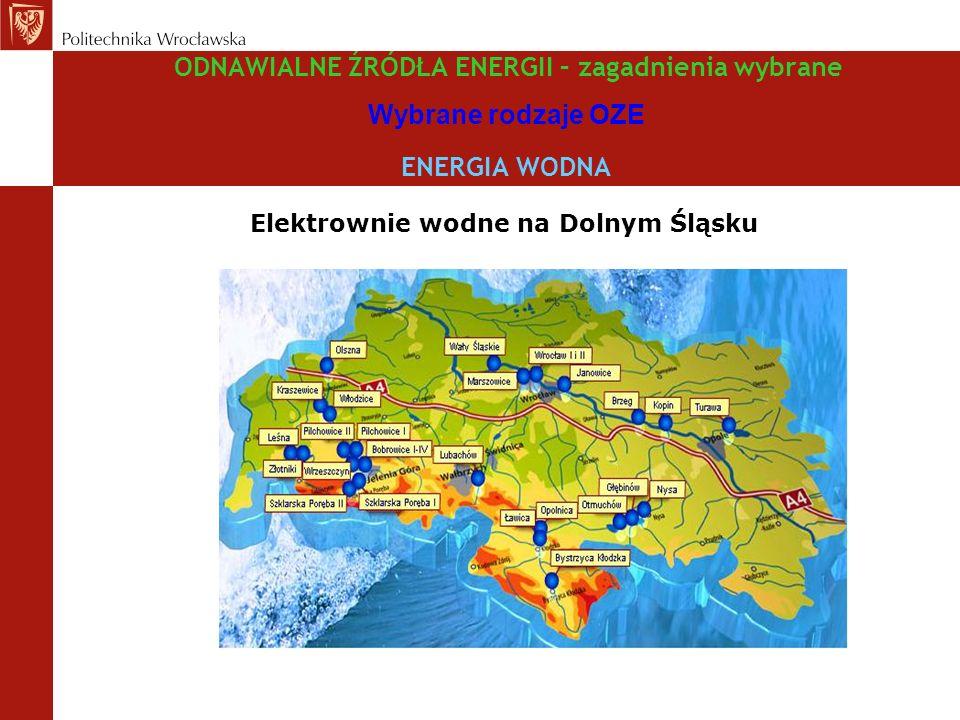Elektrownie wodne na Dolnym Śląsku