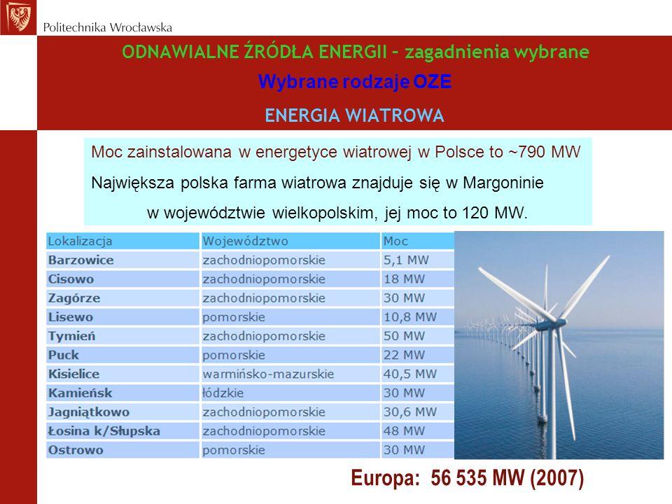 w województwie wielkopolskim, jej moc to 120 MW.