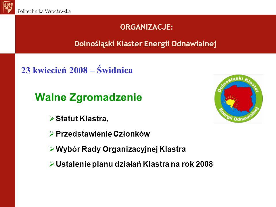 ORGANIZACJE: Dolnośląski Klaster Energii Odnawialnej