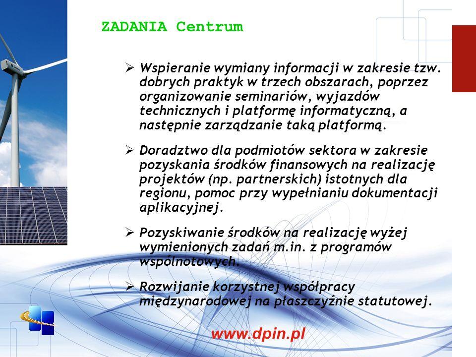 ZADANIA Centrum www.dpin.pl