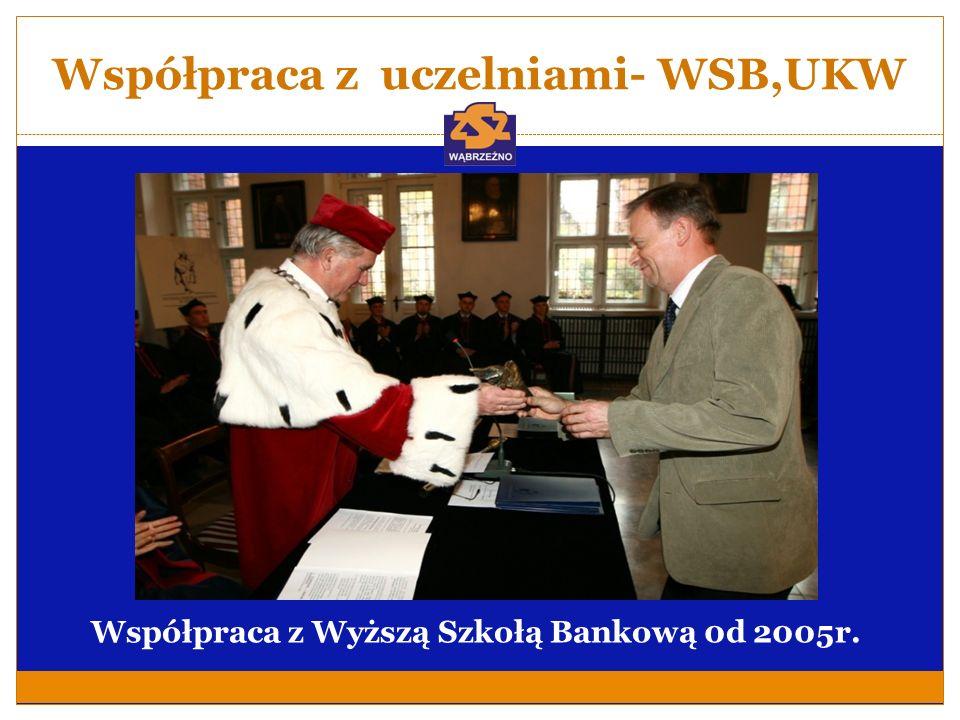 Współpraca z uczelniami- WSB,UKW