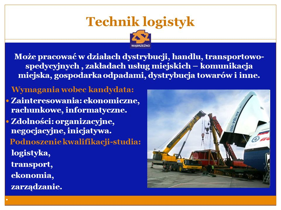 Technik logistyk