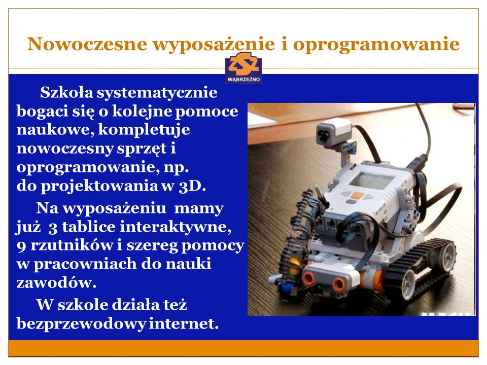 Nowoczesne wyposażenie i oprogramowanie