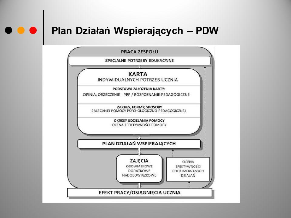 Plan Działań Wspierających – PDW