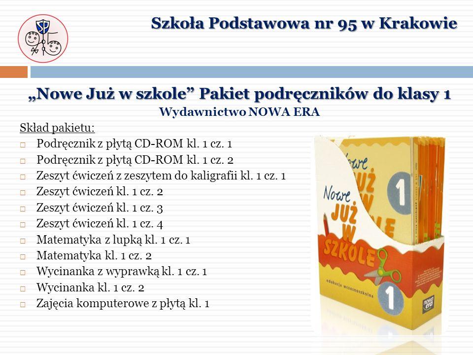 """""""Nowe Już w szkole Pakiet podręczników do klasy 1"""