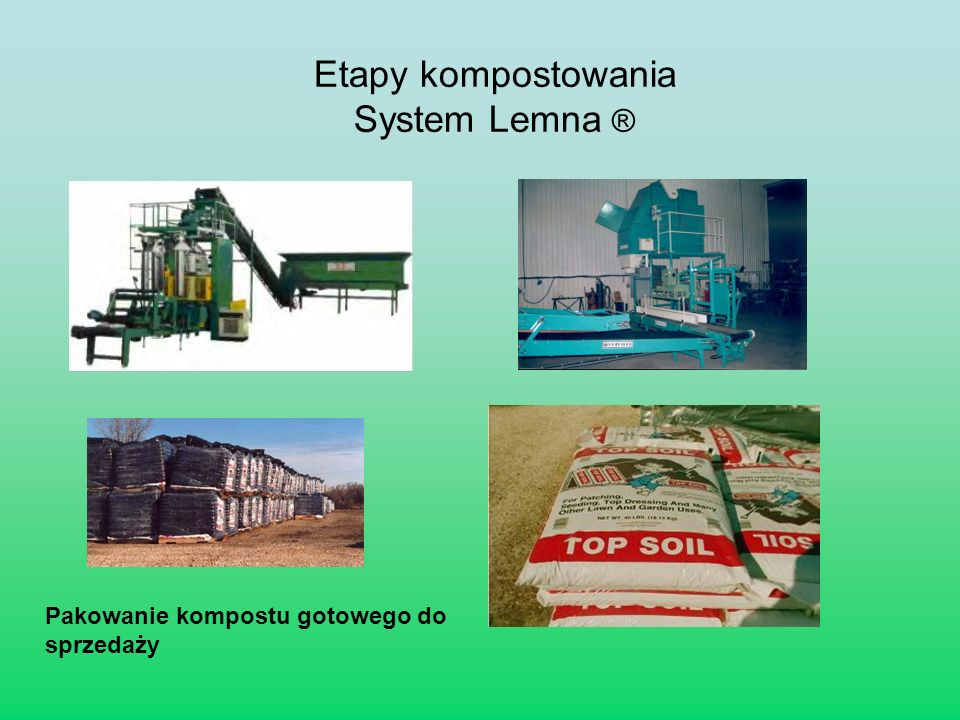 Etapy kompostowania System Lemna ®