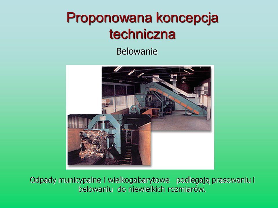 Proponowana koncepcja techniczna