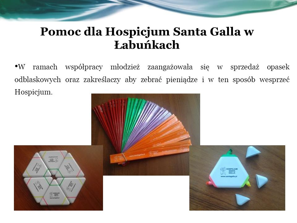 Pomoc dla Hospicjum Santa Galla w Łabuńkach