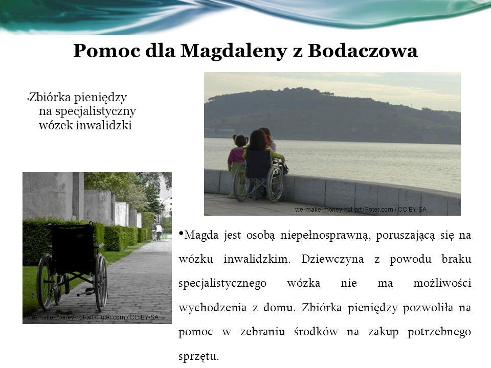 Pomoc dla Magdaleny z Bodaczowa