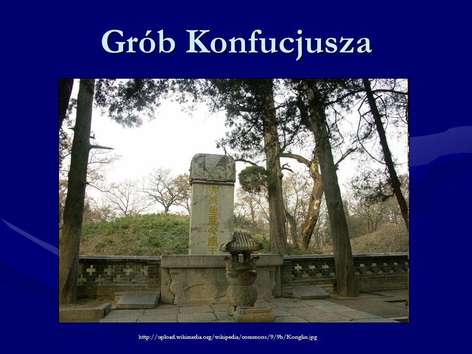 Grób Konfucjusza http://upload.wikimedia.org/wikipedia/commons/9/9b/Konglin.jpg