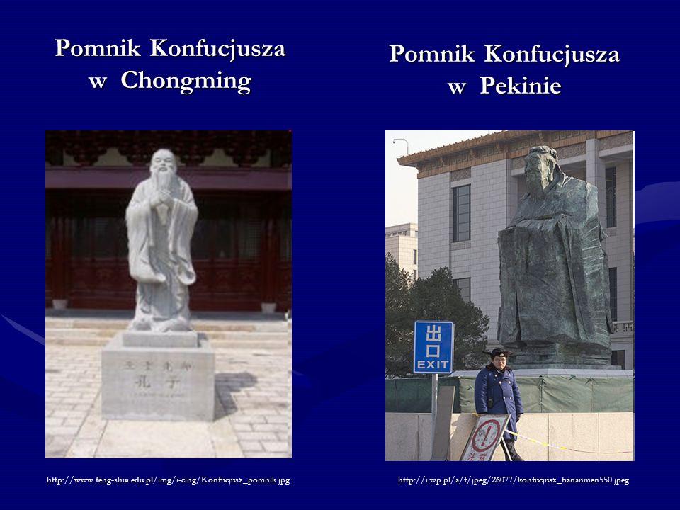 Pomnik Konfucjusza w Chongming Pomnik Konfucjusza w Pekinie