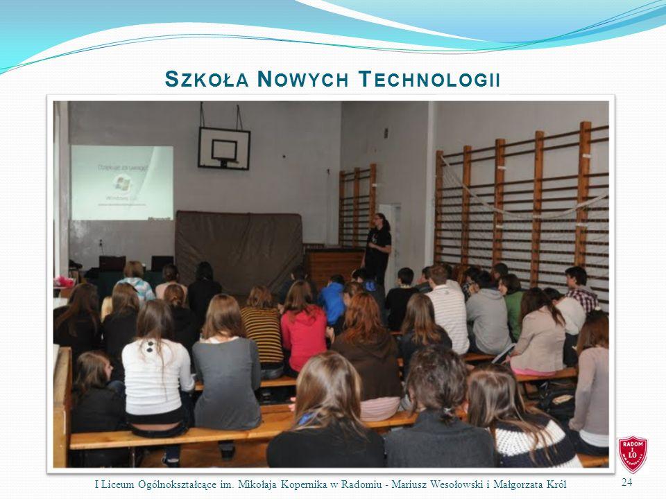 Szkoła Nowych Technologii
