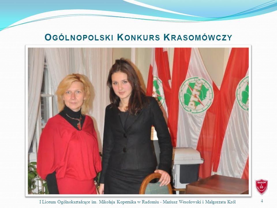 Ogólnopolski Konkurs Krasomówczy