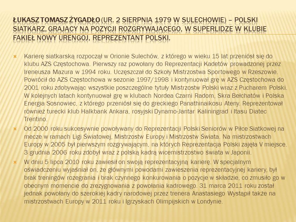 Łukasz Tomasz Żygadło (ur