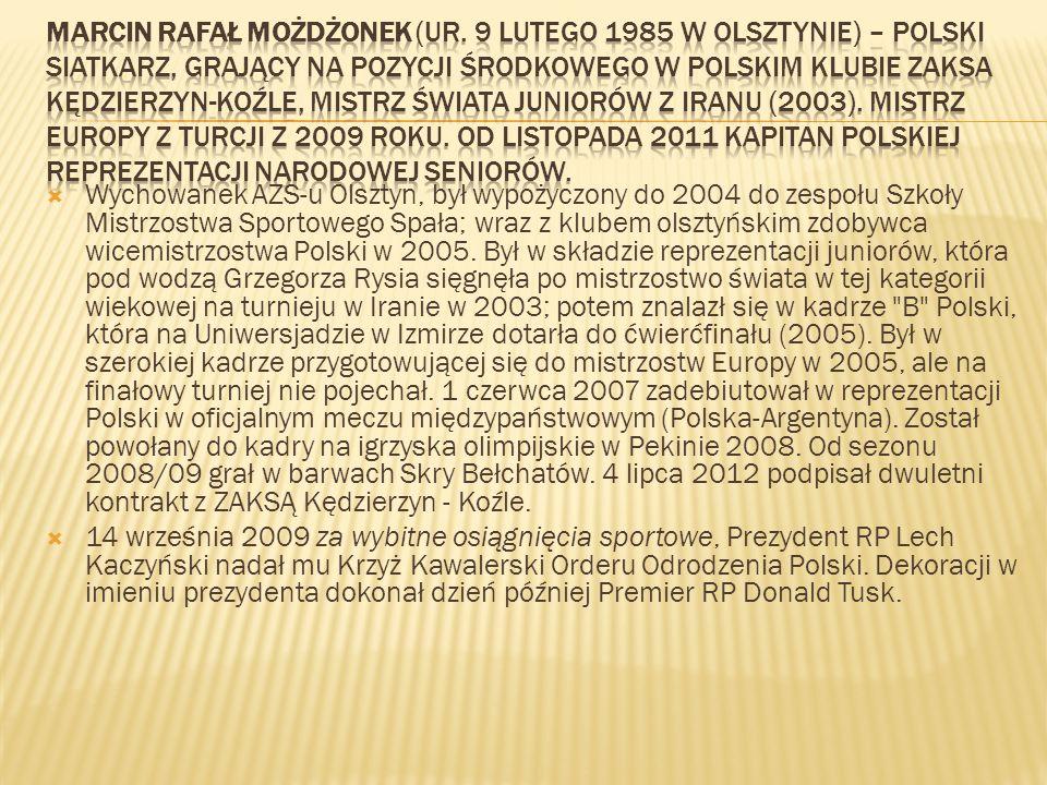 Marcin Rafał Możdżonek (ur