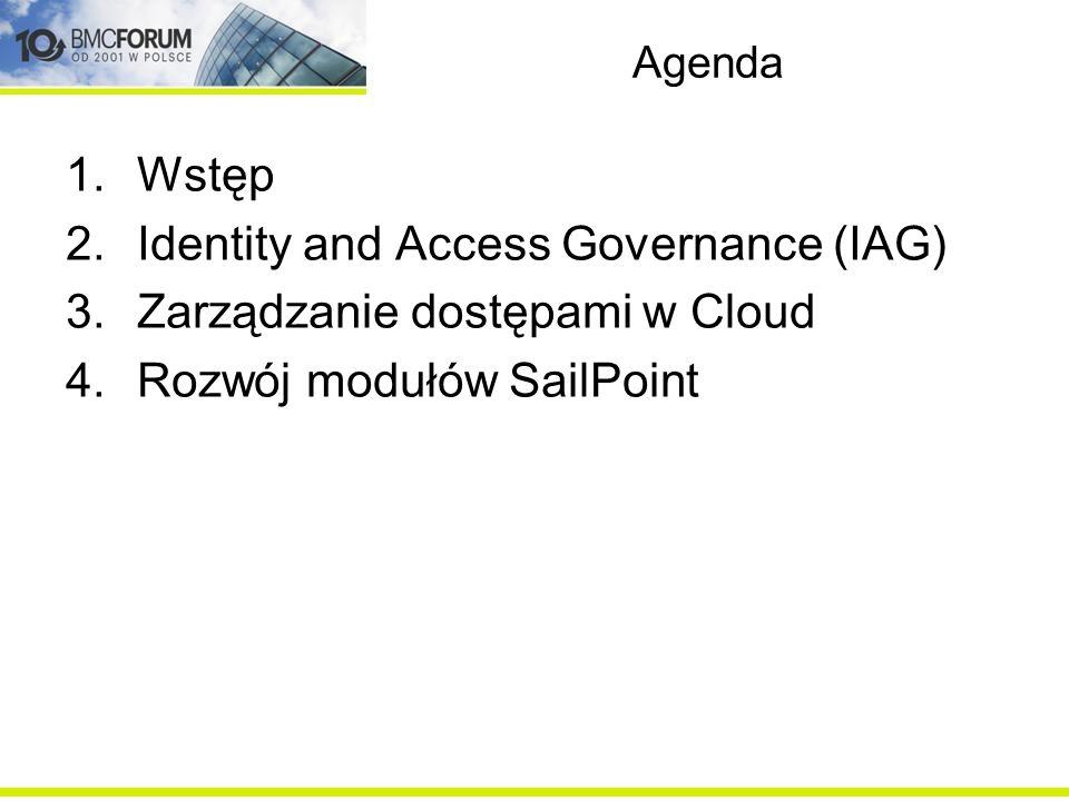 Identity and Access Governance (IAG) Zarządzanie dostępami w Cloud