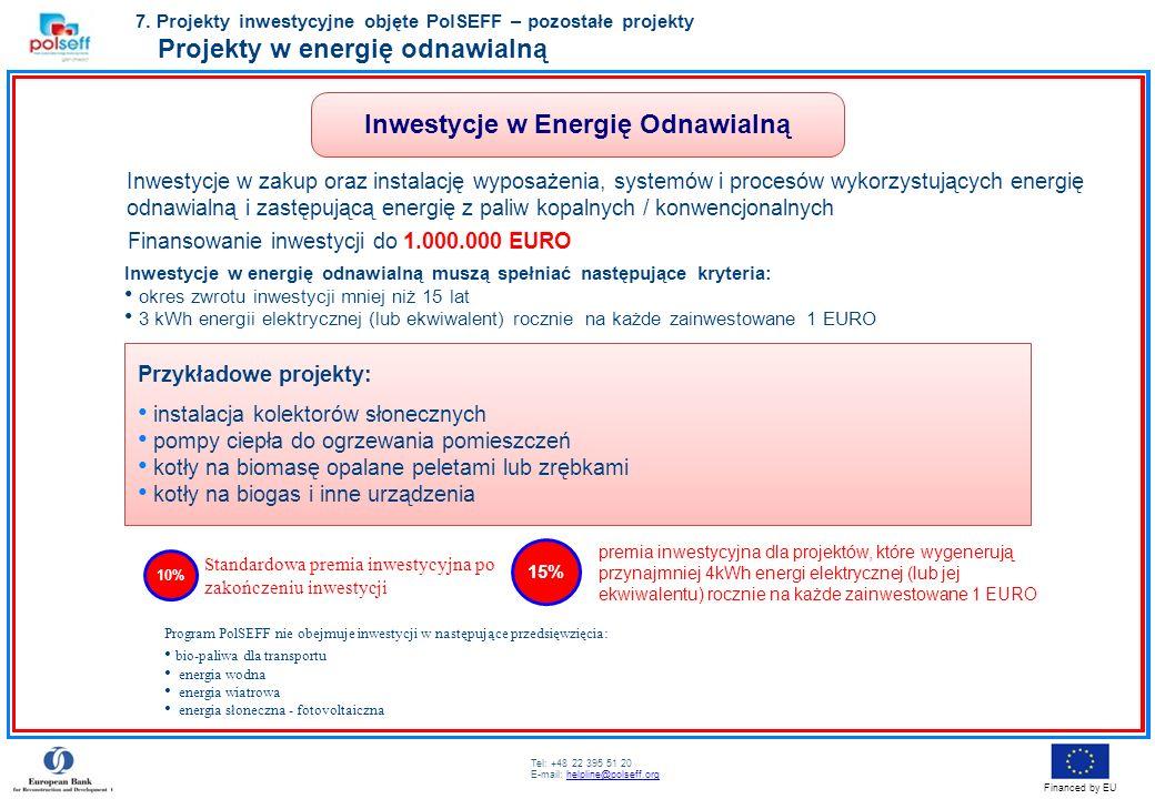 Inwestycje w Energię Odnawialną