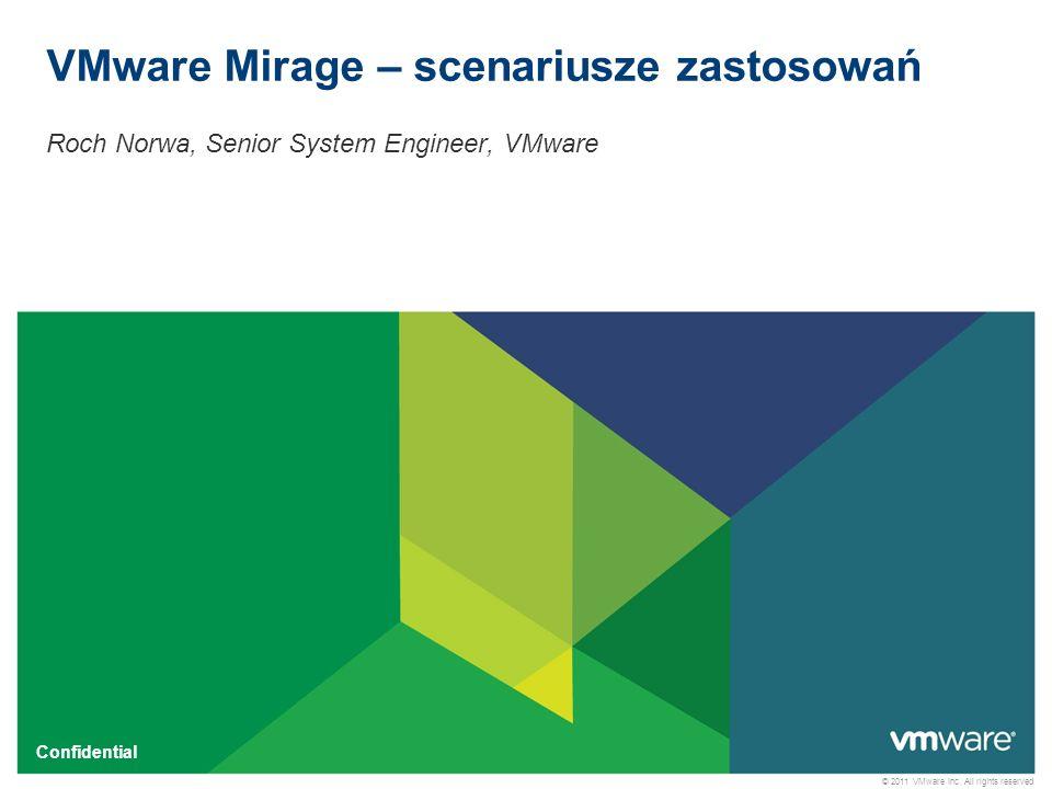 VMware Mirage – scenariusze zastosowań