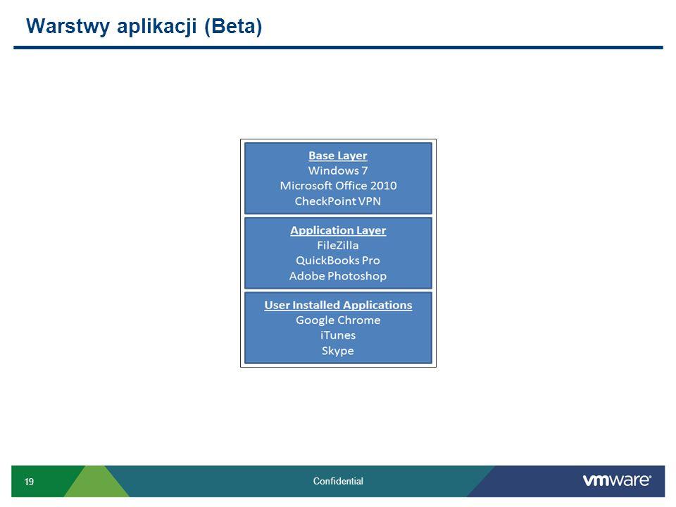Warstwy aplikacji (Beta)