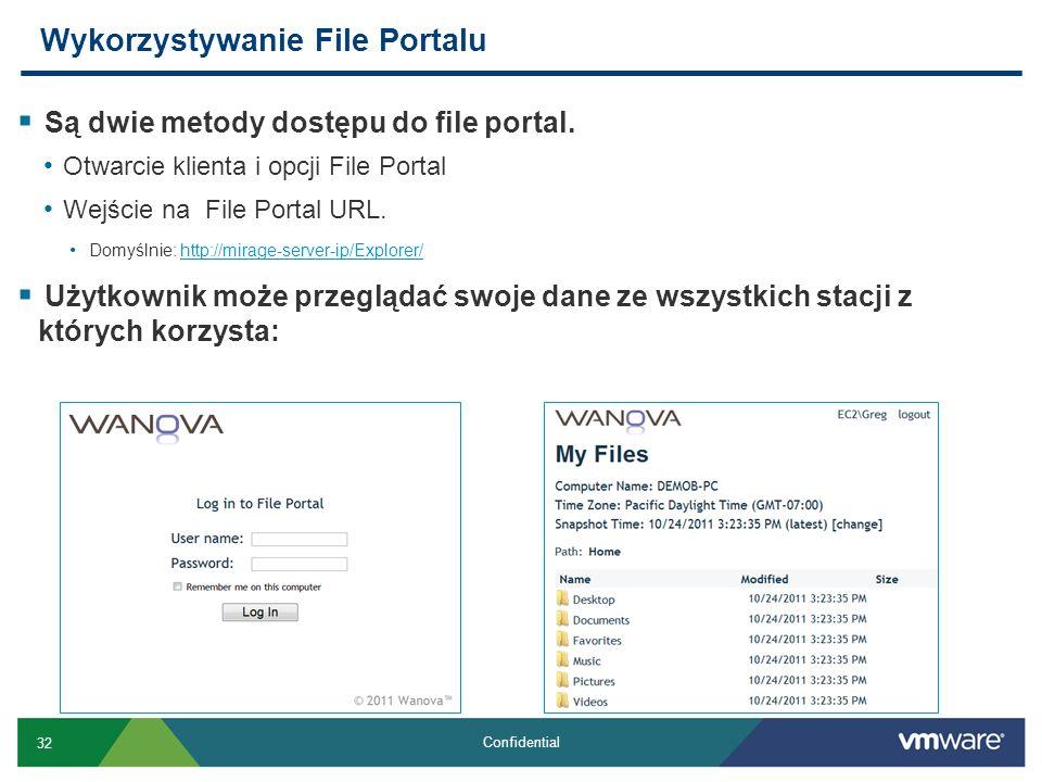Wykorzystywanie File Portalu