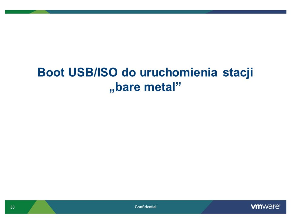 "Boot USB/ISO do uruchomienia stacji ""bare metal"