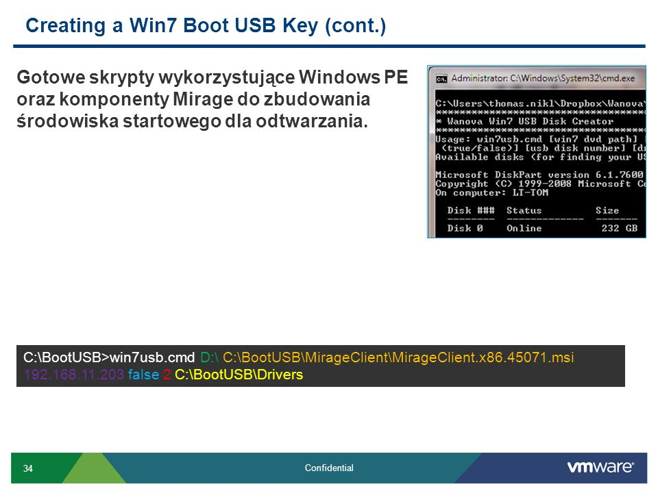Creating a Win7 Boot USB Key (cont.)