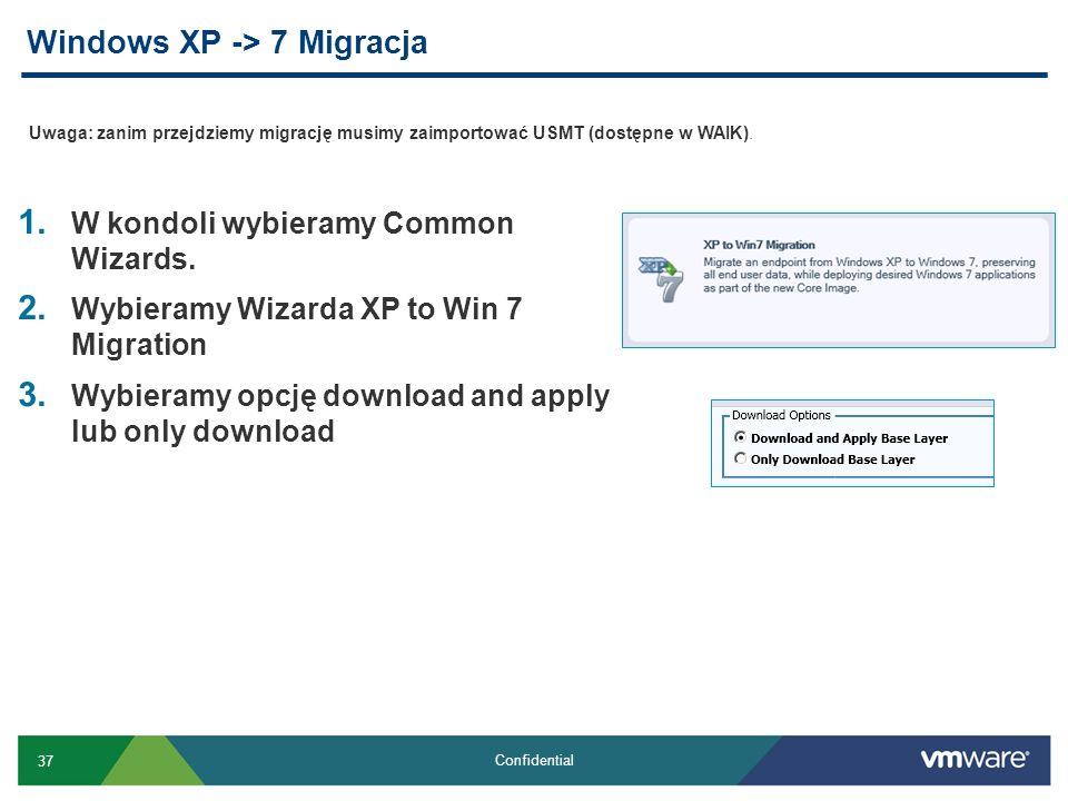 Windows XP -> 7 Migracja