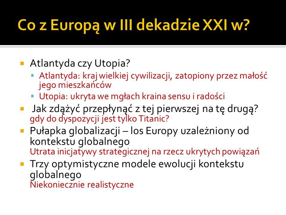 Co z Europą w III dekadzie XXI w
